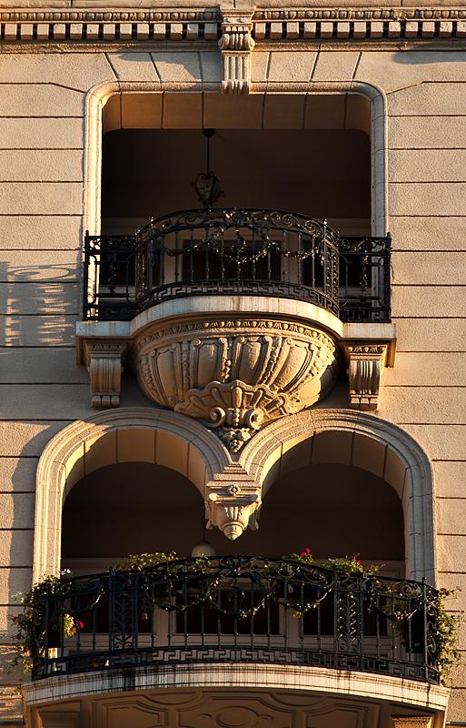 Fanciful balconies