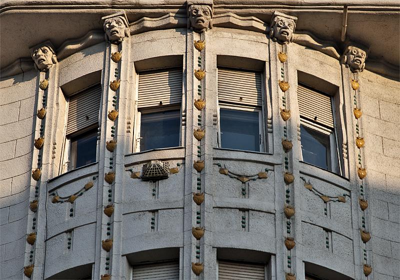 Gutenberg House detail
