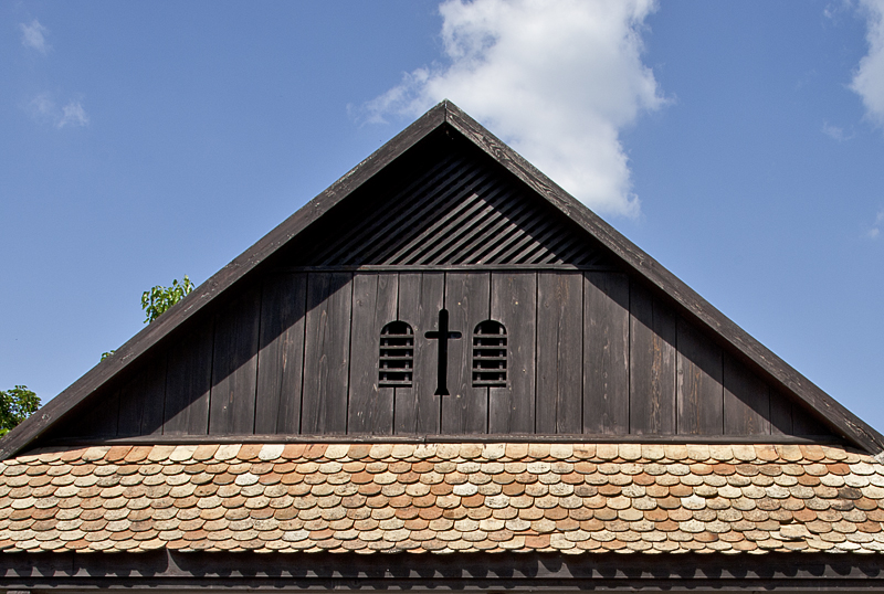 Unusual roof
