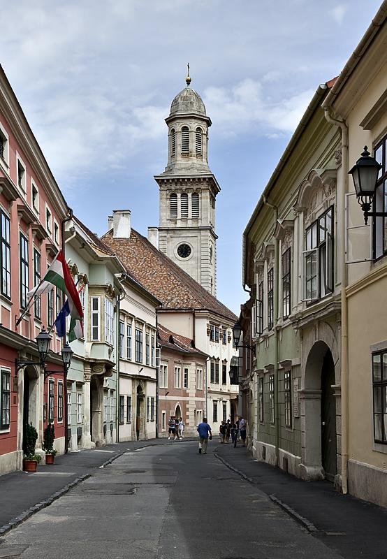 A church street