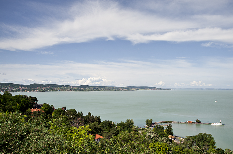 Lake Balaton from Tihany