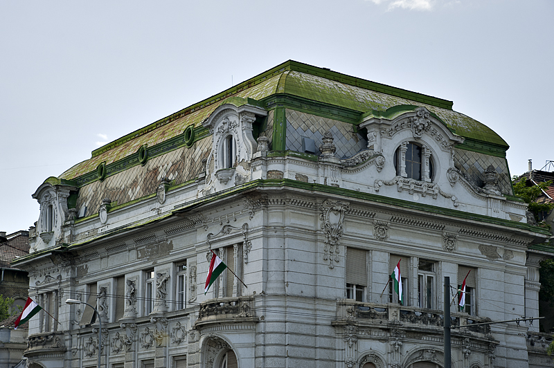 Grand old building on Heroes Square