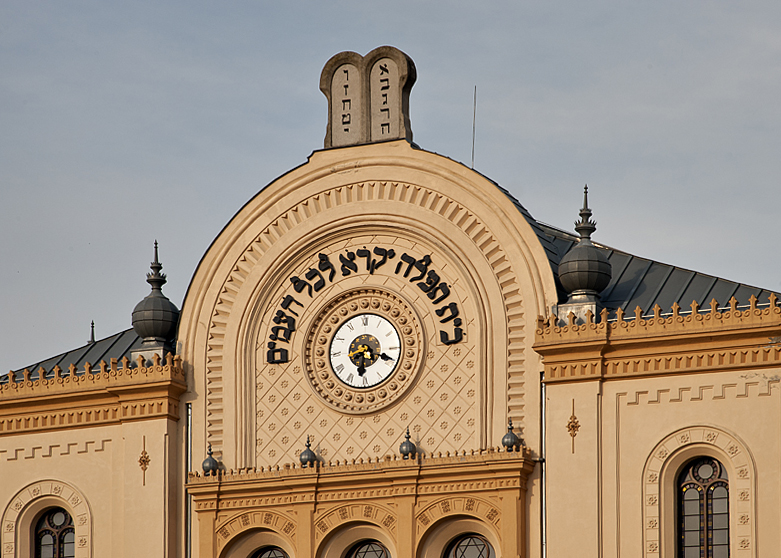 Synagogue revisited in sweet light