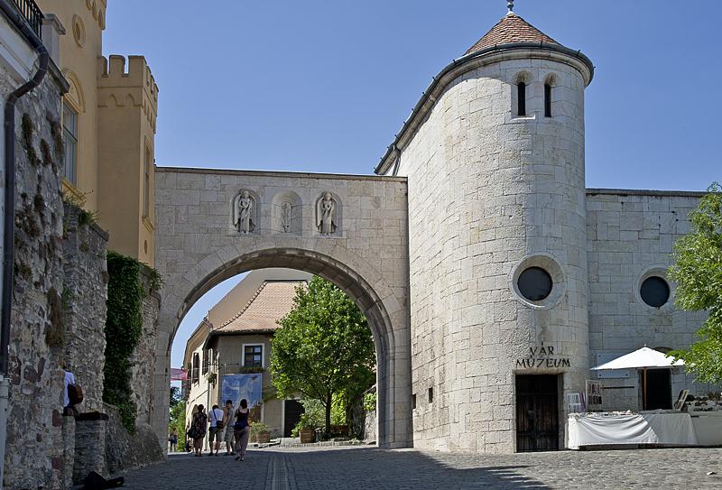 Entrance to castle district