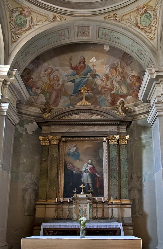 Piarist church, interior