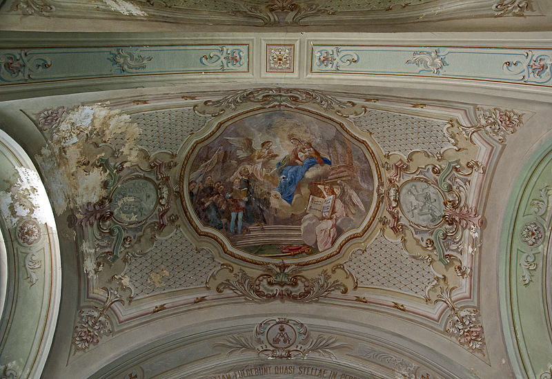 Piarist church, ceiling detail