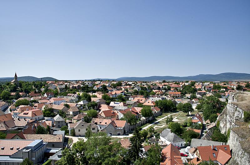 Veszprém from the castle district