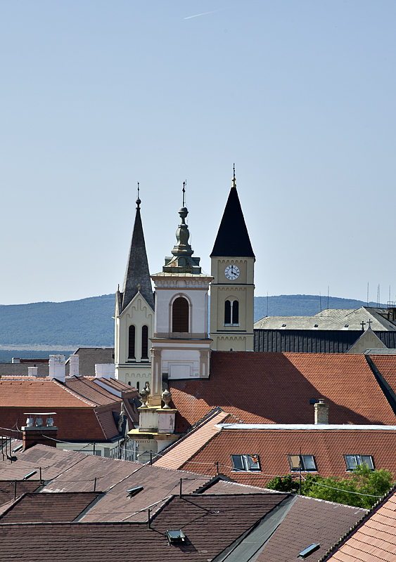 Steeples of the castle district