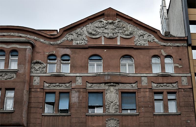 Intricate facade