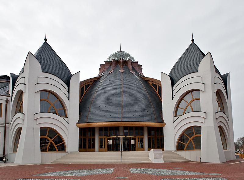 Makói Hagymatikum Fürdő (baths), entry