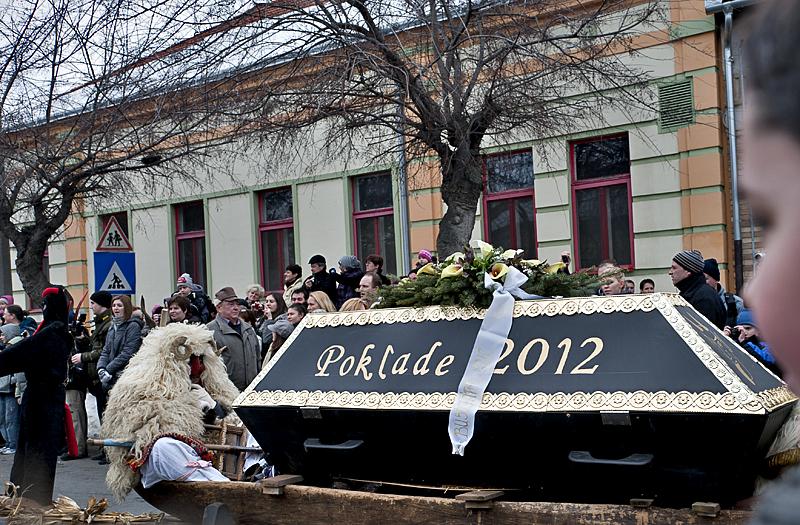 Carnival 2012 (Croatian) coffin