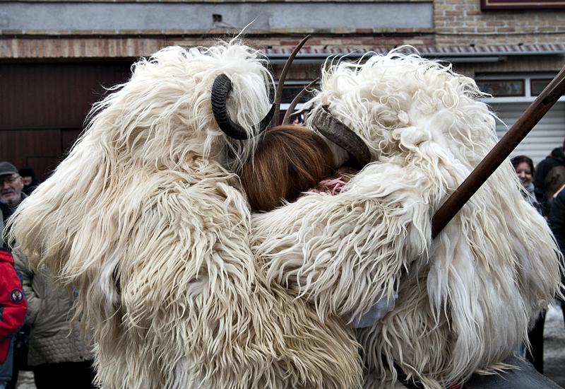 The Busó hug