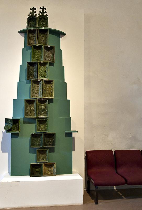 Original tiles, Regensburg stove