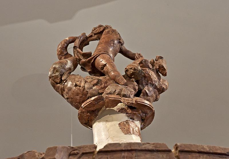 Hercules Fountain remnants