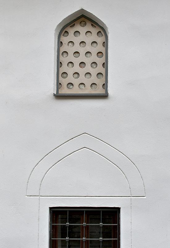 Restored mosque