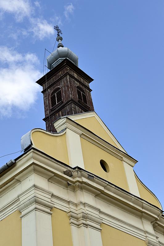 Wooden steeple
