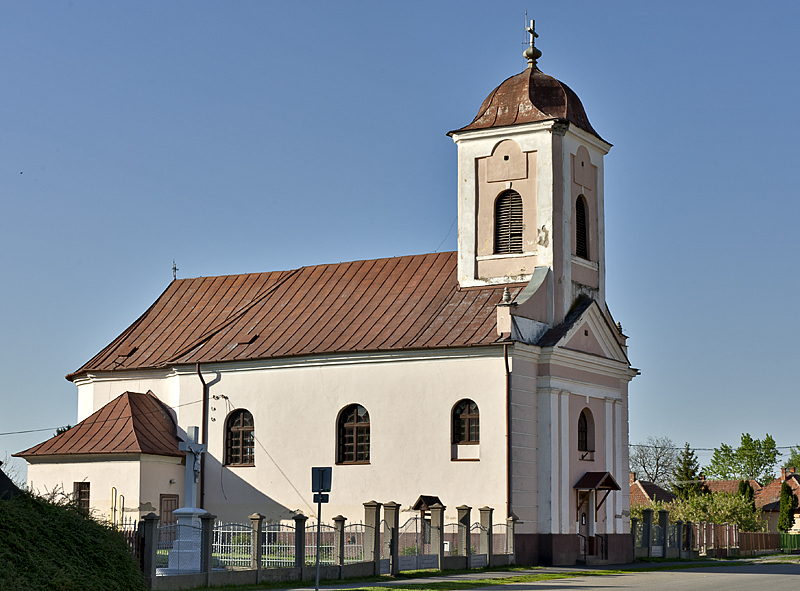 The Catholic church in town