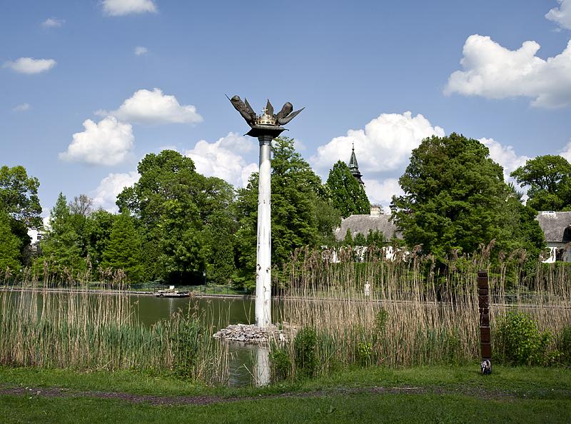 Szarvas, millennium monument