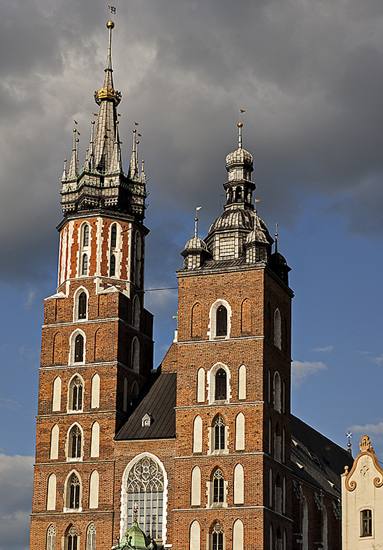 Church of St. Mary, towers