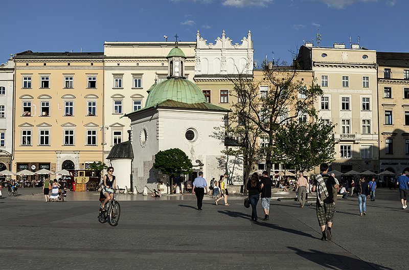 Market Square, St. Adalberts Church