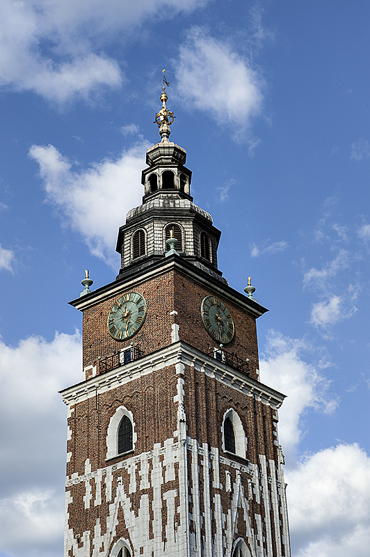 Town Hall Tower, detail
