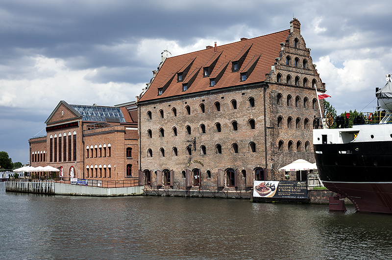 Old grain warehouse, now hotel