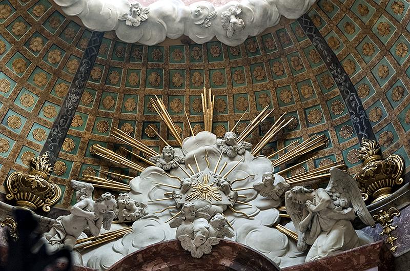 Oliwa Cathedral, chapel dome