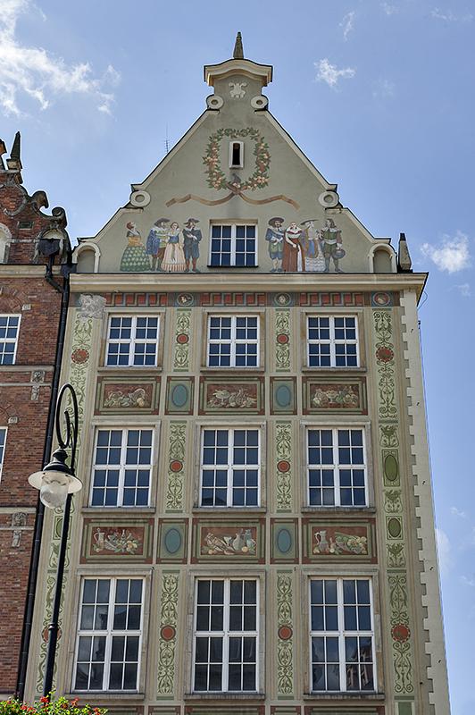 Magnificent buildings of Gdańsk