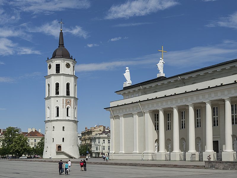 Vilnius Cathedral, belfry