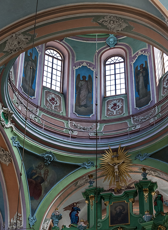 Orthodox Church of the Holy Spirit, dome detail