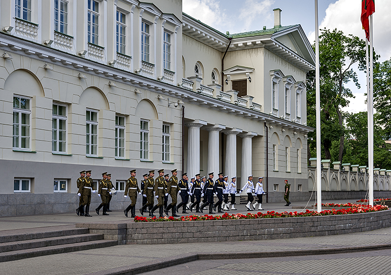 Presidential Palace, honor guard