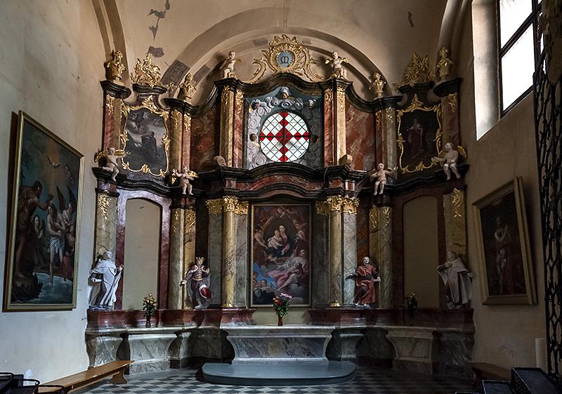 Church of All Saints, chapel