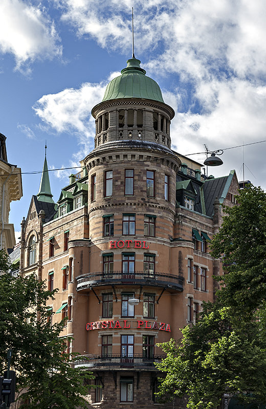 Grand architecture in City