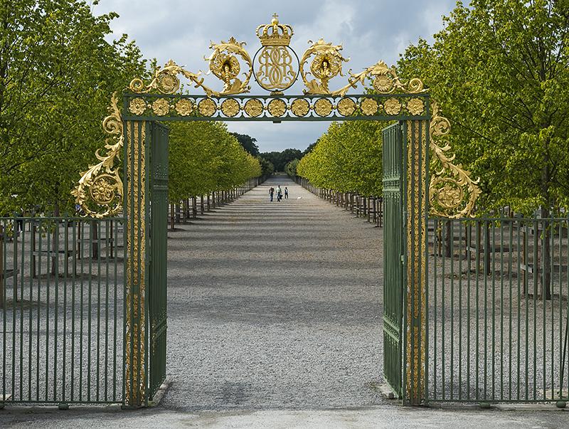 Drottningholm Palace, royal gardens