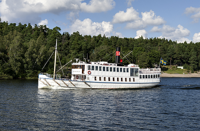 Prins Carl Philip (1901) on Lake Mälaren