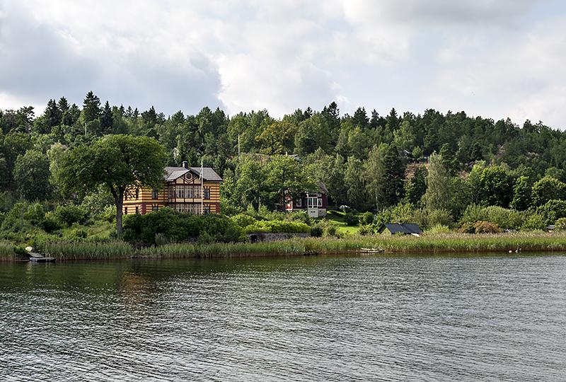 Away from it all on Lake Mälaren