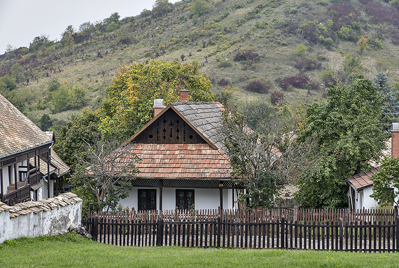 Hill side home