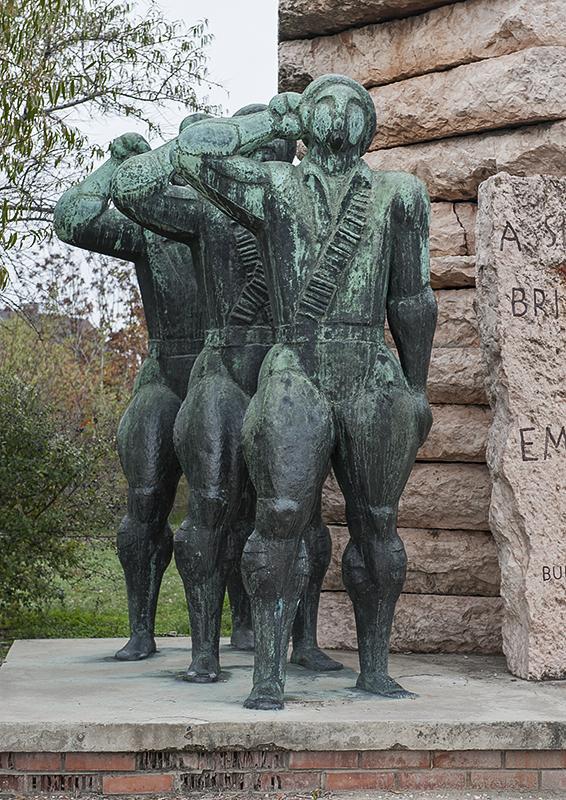 Hungarian Fighters, Spanish Intl Brigades Memorial