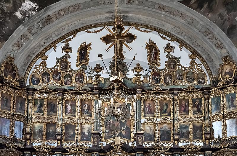 Serbian Orthodox church, iconostasis