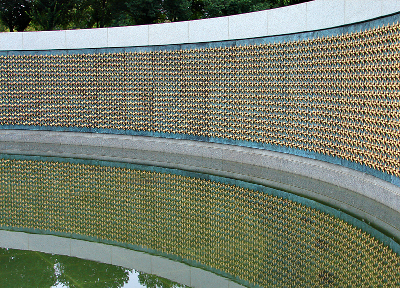 World War II Memorial pool