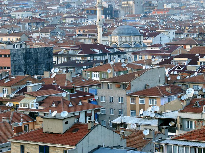 Yenibosna view