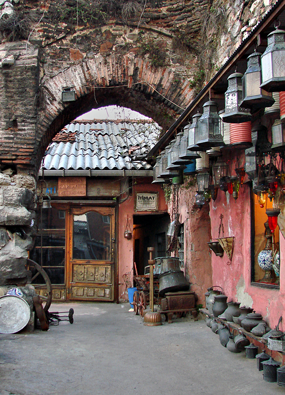 Shops among the ages, Covered Bazaar