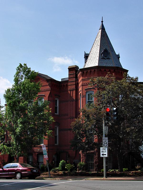Grand house on the corner