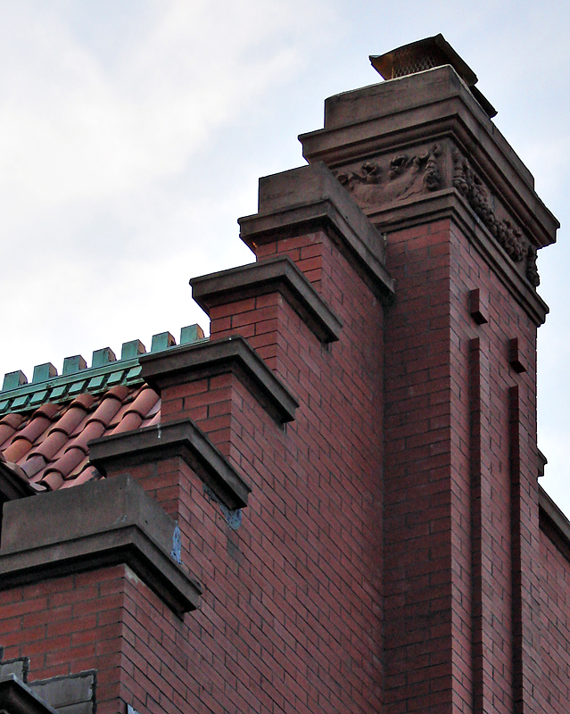 Sophisticated chimney