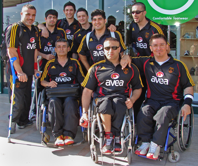 Galatasaray wheelchair basketball team
