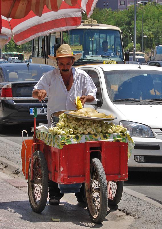 The corn seller