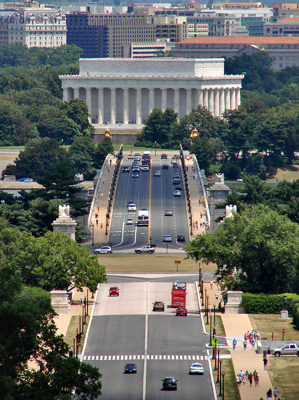 Memorial Bridge, Lincoln Memorial