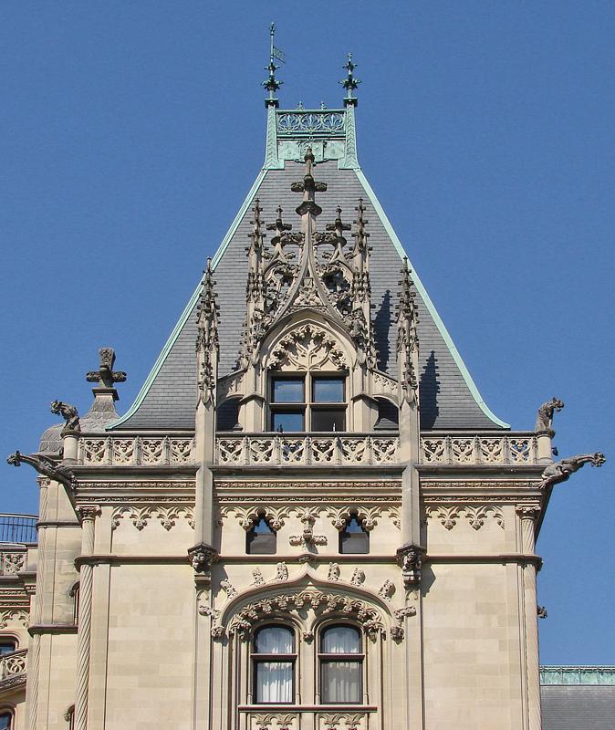Biltmore Estate, main tower