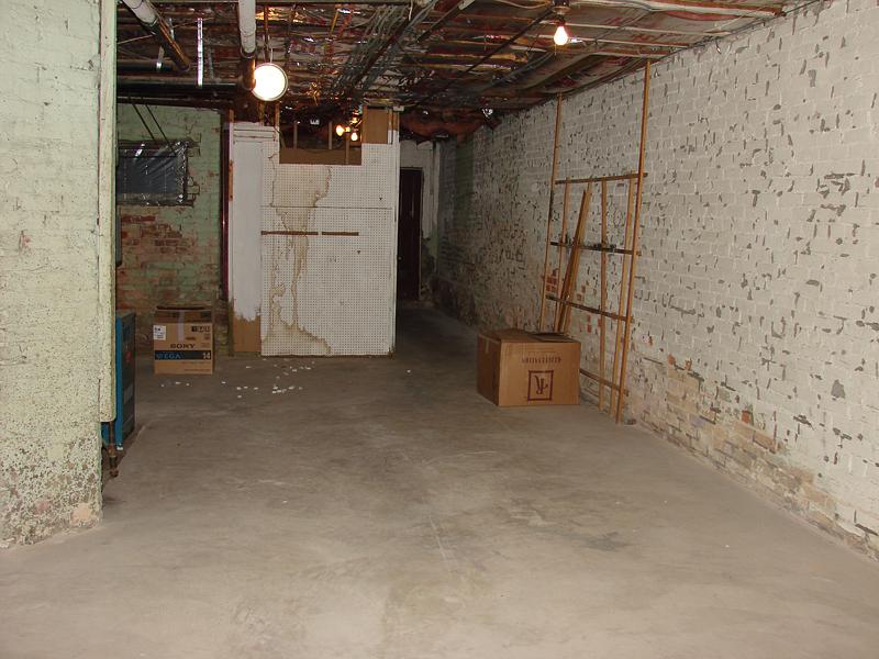 Basement renovation - before
