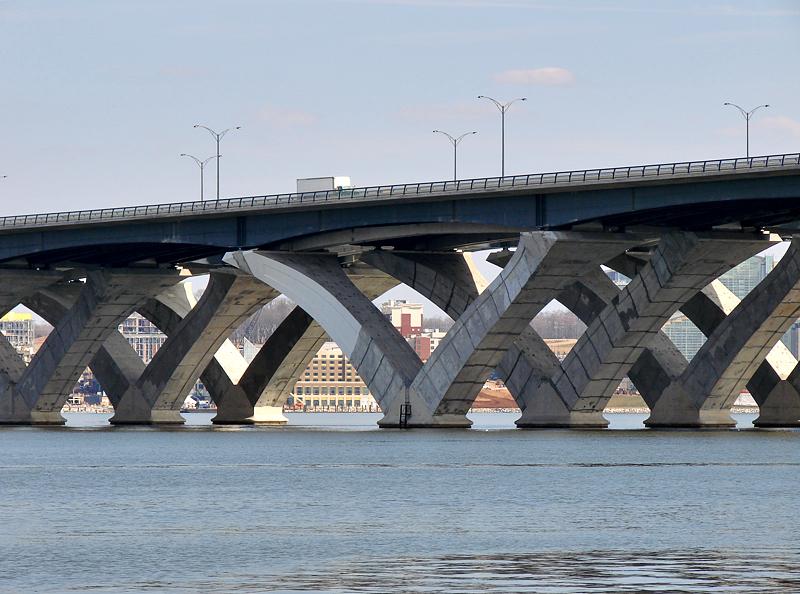 The new Woodrow Wilson Bridge